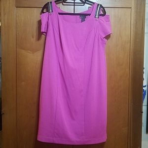 LANE BRYANT Cold Shoulder Body-Con Dress